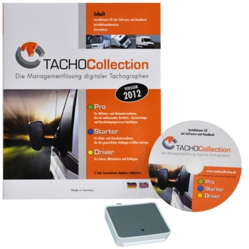 TACHOCollection Pro mit Kartenleser
