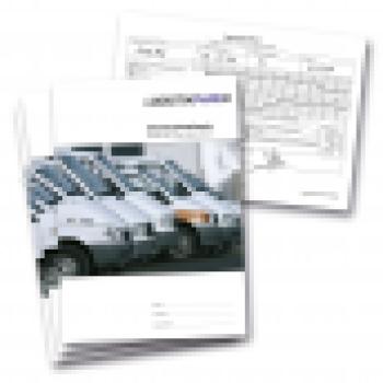 logistikpaper tageskontrollbuch f r fahrzeuge von 2 8t. Black Bedroom Furniture Sets. Home Design Ideas