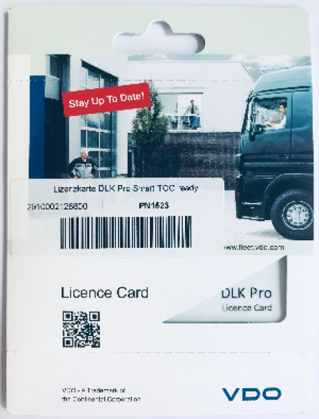 DLK Pro Licence Card Smart TCO ready